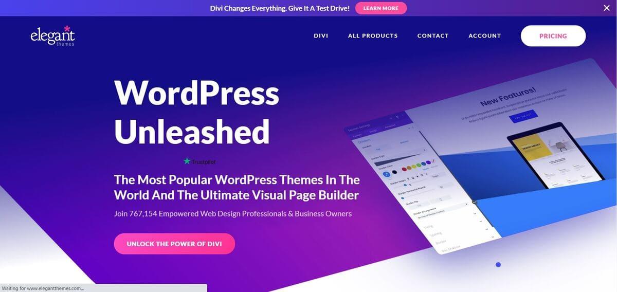 ธีม Divi WordPress