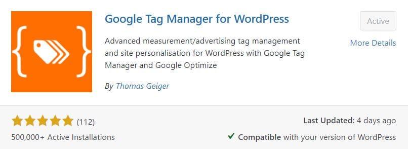 plugin google tag manager